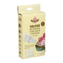 EDDINGTONS DELUXE ICING BAG WITH NOZZLES