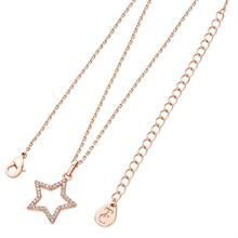 TIPPERARY STAR PENDANT OPEN ROSE GOLD