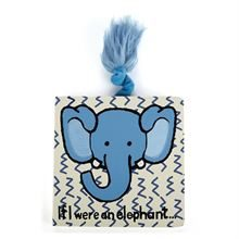 JELLYCAT IF I WERE YOU AN ELEPHANT BOARD BOOK