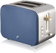 SWAN 2 SLICE NORDIC STYLE TOASTER, BLUE