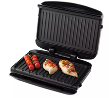 GEORGE FOREMAN 5 PORTION GRILL REMOVABLE PLATES