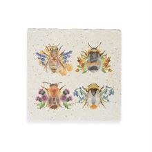 THE BRITISH COLLECTION-BEES MEDIUM (200MM*200MM)