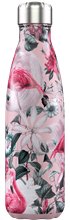 CHILLY'S 500ML BOTTLE TROPICAL FLAMINGO