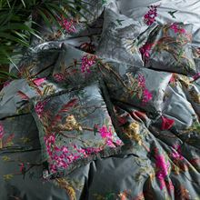 TED BAKER HIBISCUS CHARCOAL CUSHION