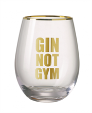 PARLANE GIN NOT GYM GLASS
